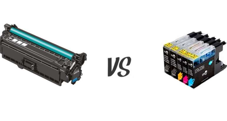 Razlika između tinta i tonera
